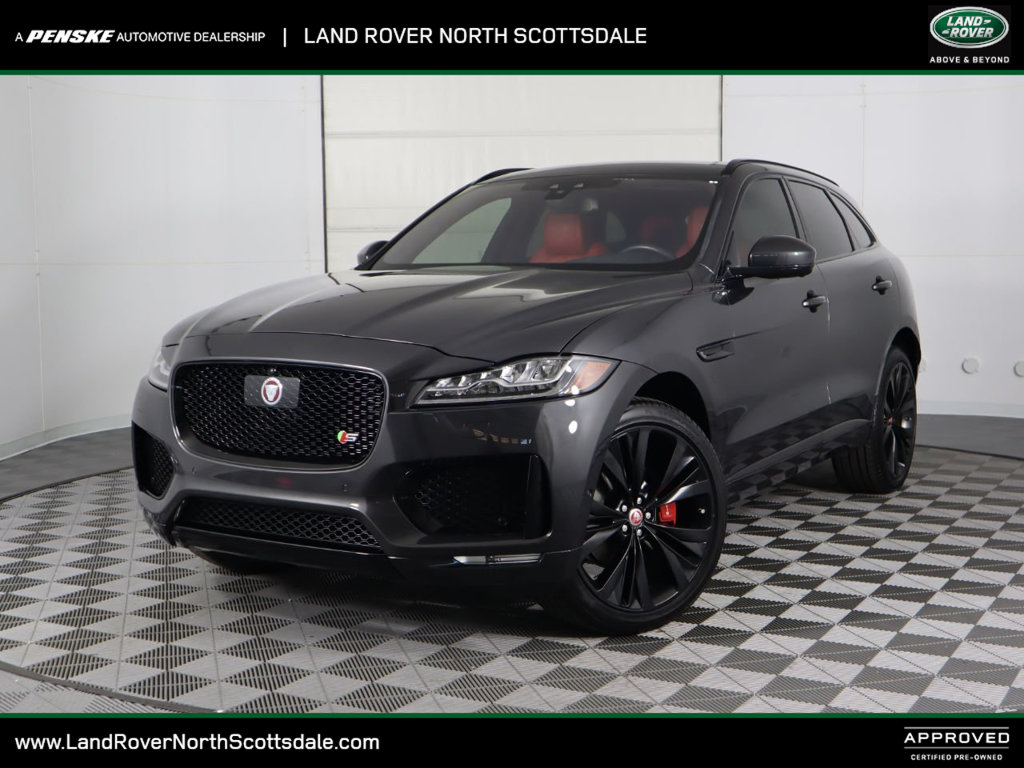 Pre-Owned 2017 Jaguar F-PACE S AWD