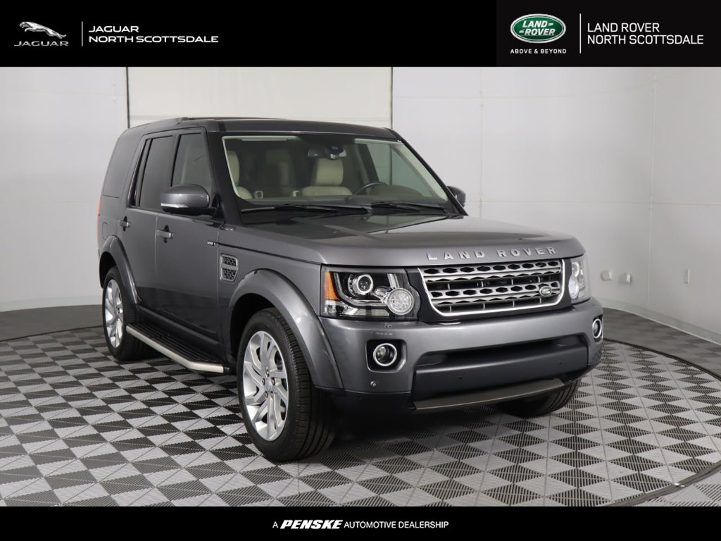 Certified Pre-Owned 2016 Land Rover LR4 4WD 4dr HSE
