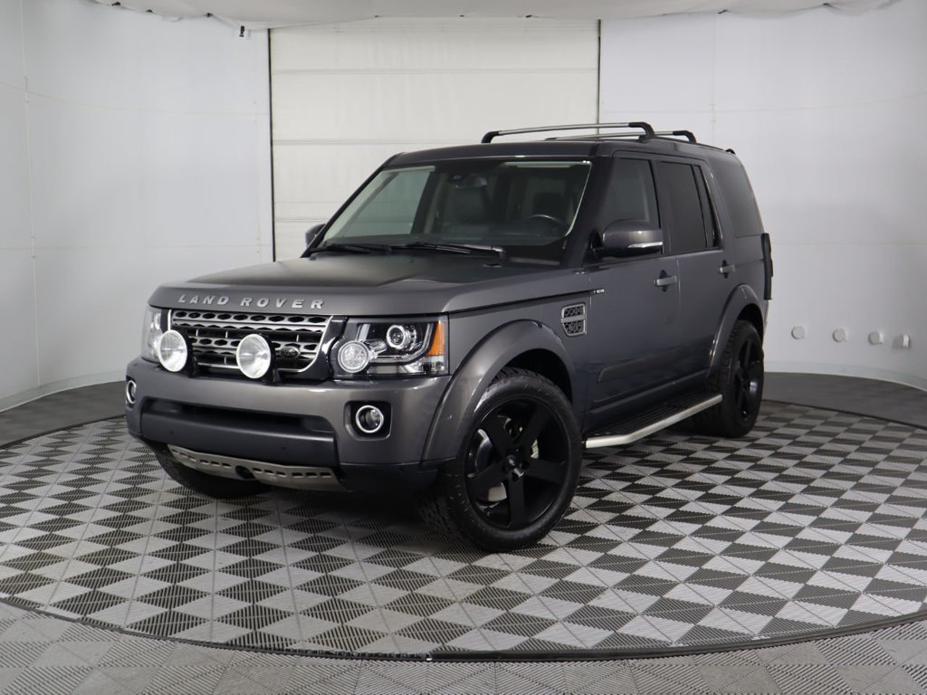 Pre-Owned 2016 Land Rover LR4 4WD 4dr HSE