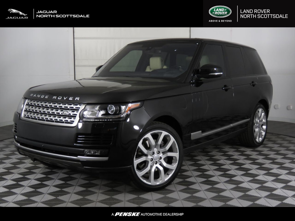 Pre-Owned 2016 Land Rover Range Rover 4WD 4dr Supercharged