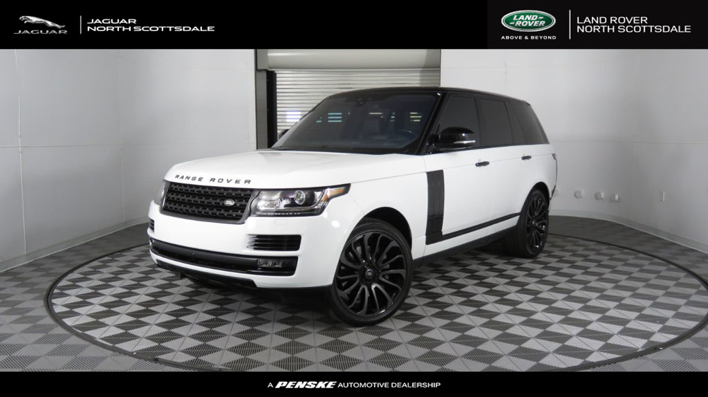 Certified Pre-Owned 2017 Land Rover Range Rover V8 Supercharged SWB