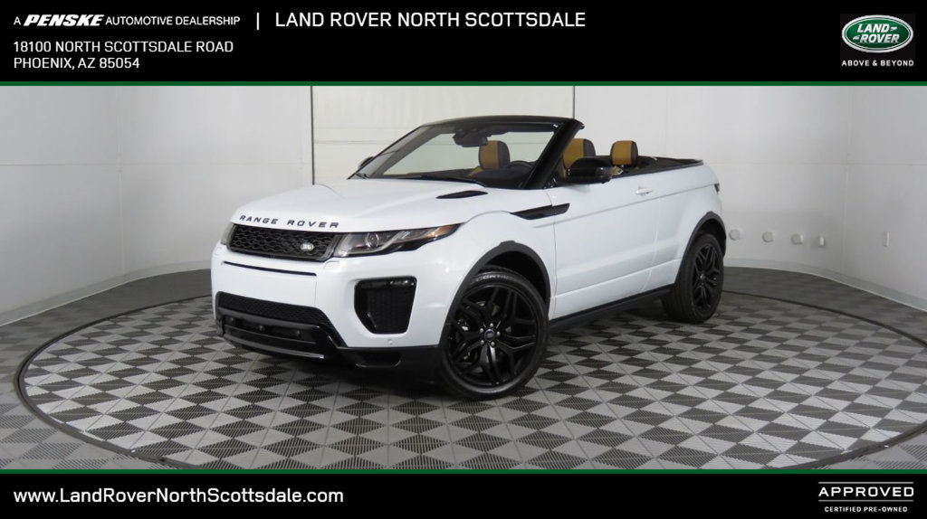 Certified Pre-Owned 2018 Land Rover Range Rover Evoque Convertible HSE Dynamic