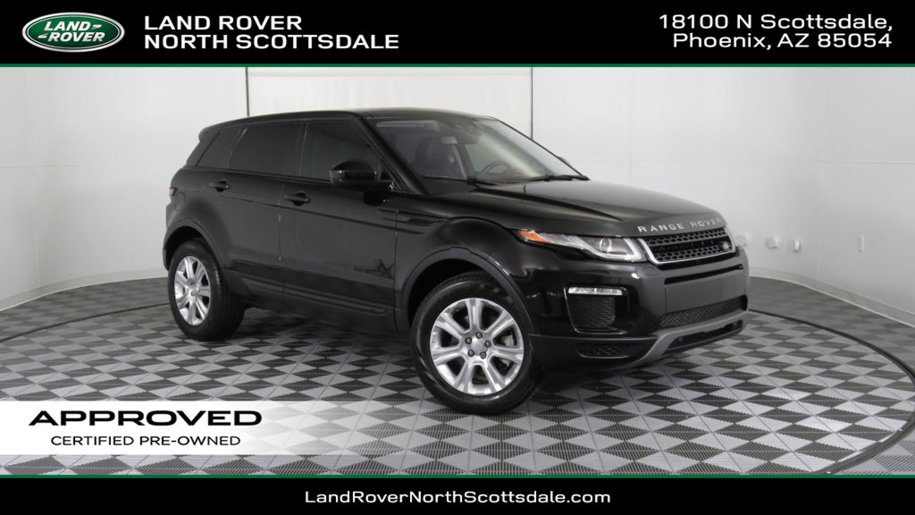 Pre Owned 2017 Land Rover Range Evoque Courtesy Vehicle
