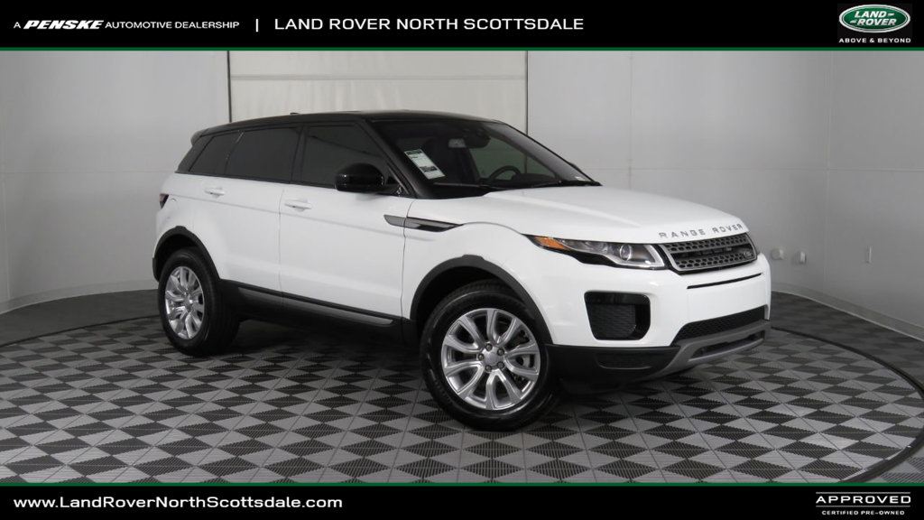 Pre Owned 2018 Land Rover Range Evoque Courtesy Vehicle