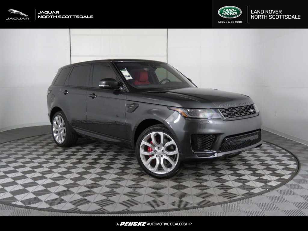New 2019 Land Rover Range Rover Sport V8 Supercharged Dynamic