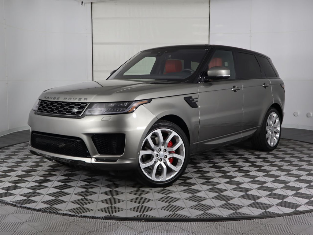 Certified Pre-Owned 2019 Land Rover Range Rover Sport V8 Supercharged Dynamic