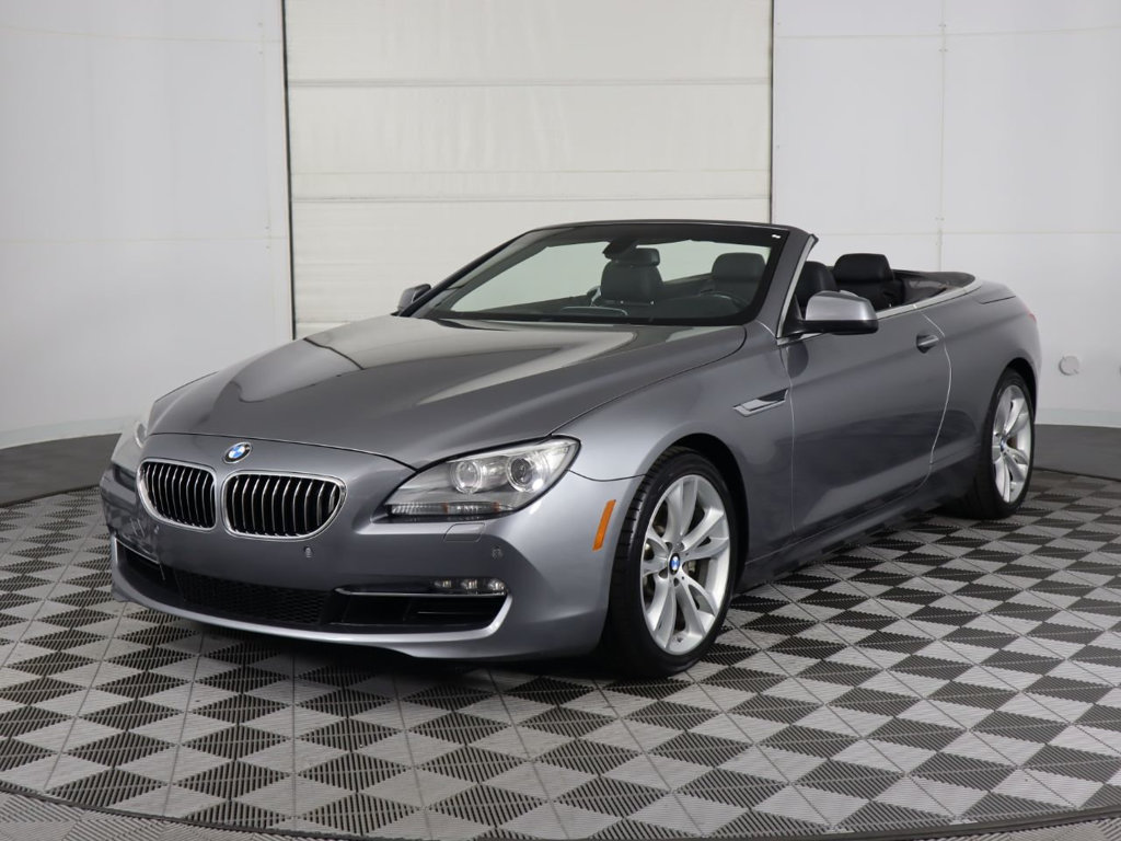 Pre-Owned 2012 BMW 6 Series 640i