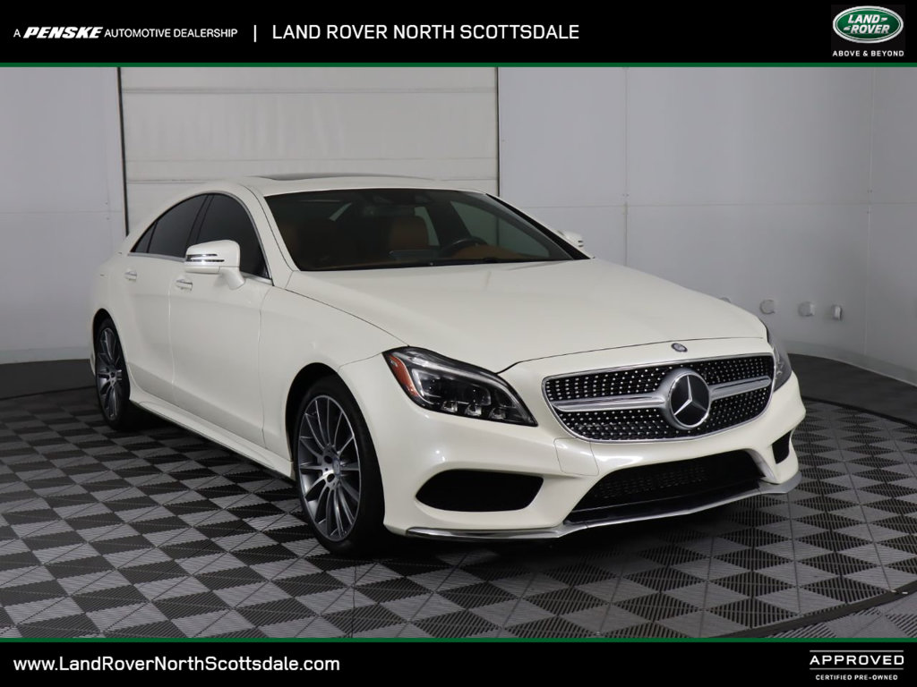 Pre-Owned 2015 Mercedes-Benz CLS 4dr Sedan CLS 550 RWD