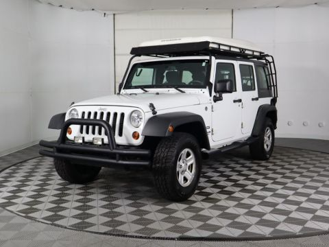 Pre-Owned 2012 Jeep Wrangler Unlimited 4WD 4dr Sport