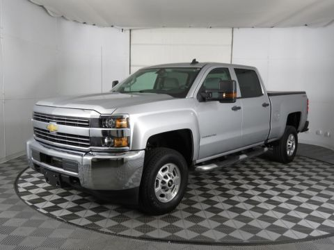 "Pre-Owned 2017 Chevrolet Silverado 2500HD 4WD Crew Cab 153.7"" Work Truck"