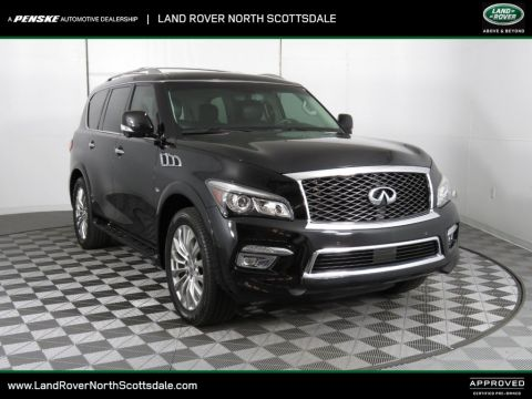 Pre-Owned 2015 INFINITI QX80 2WD 4dr