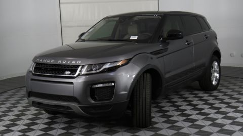 Certified Pre-Owned 2018 Land Rover Range Rover Evoque COURTESY VEHICLE