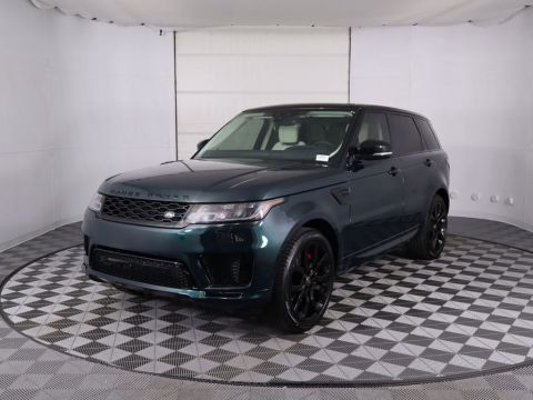 New 2020 Land Rover Range Rover Sport V8 Supercharged Autobiography